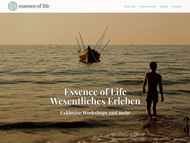 Essence of life – Wesenliches erleben