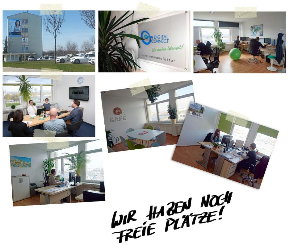 Büroräume von Digital Connect aus Chemnitz