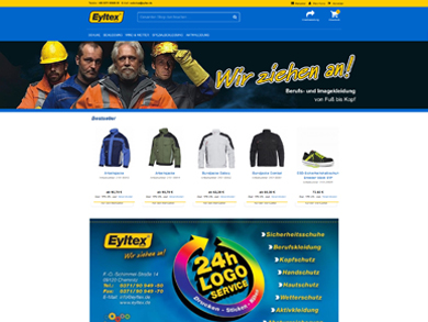 Eyltex GmbH B2B Onlineshop