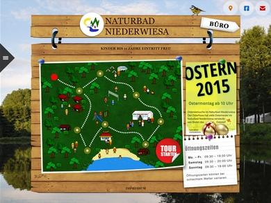 Naturbad Niederwiesa 2013