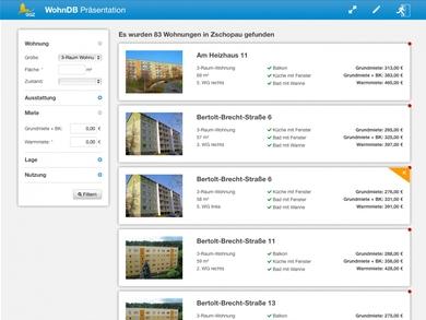 GGZ Wohnungsdatenbank