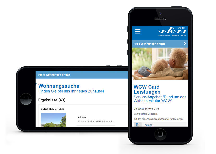 Webseite responsive Webdesign erstellt von Digital Connect aus Chemnitz