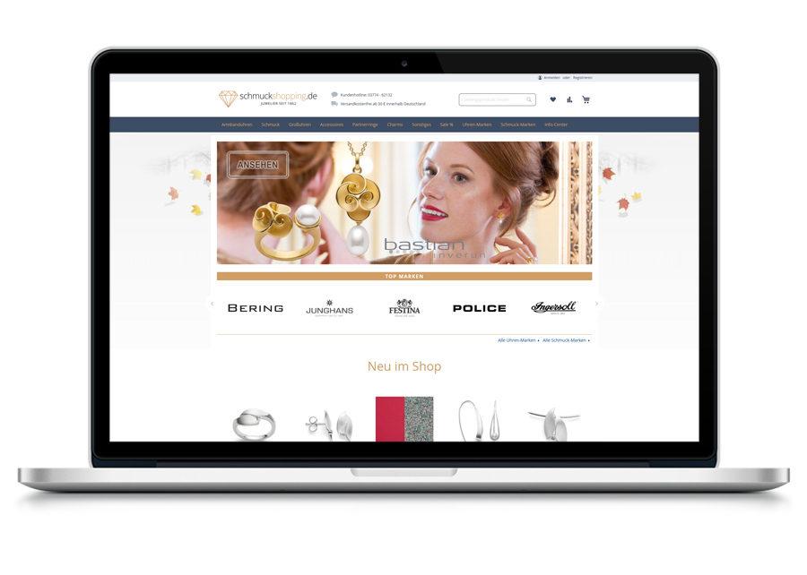Onlineshop erstellt von Digital Connect aus Chemnitz