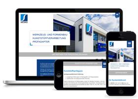 Beispiel Webseite für die Wesko GmbH